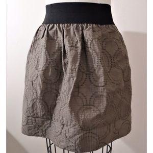 ❤️ Simply Vera Wang taupe textured full skirt, XL